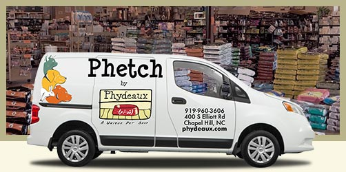 Phetch Home Delivery - Same day delivery, shipping, and curb-side and in-store pickup!