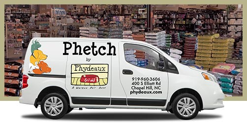 Phetch Home Delivery Van